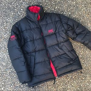 Helly Hansen reversible down puffer jacket XL